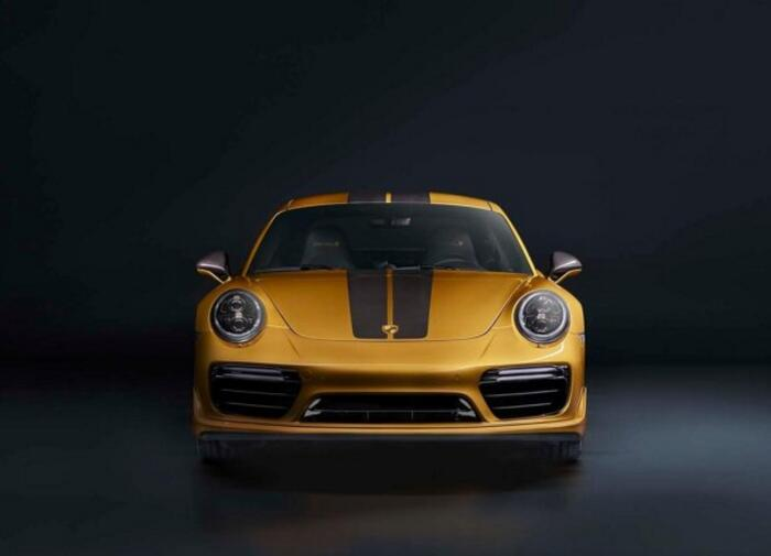 911 Turbo S special edition price announcement