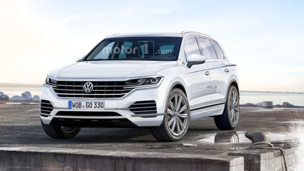 Domineering side leakage of the new generation of Touareg effect exposure