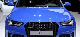 New Audi RS4 Avant, the recent debut
